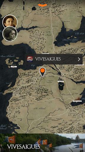 Приложение Game of Thrones S4 Officiel на Андроид