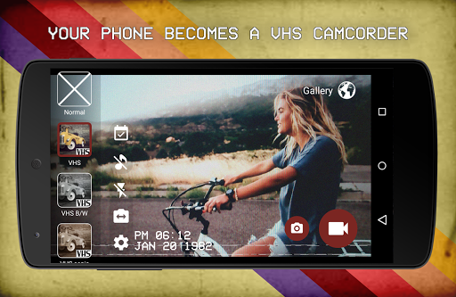 VHS Camera Recorder скачать на планшет Андроид