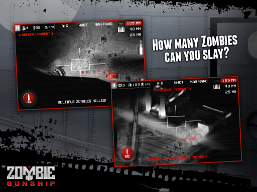 Игра Zombie Gunship для планшетов на Android