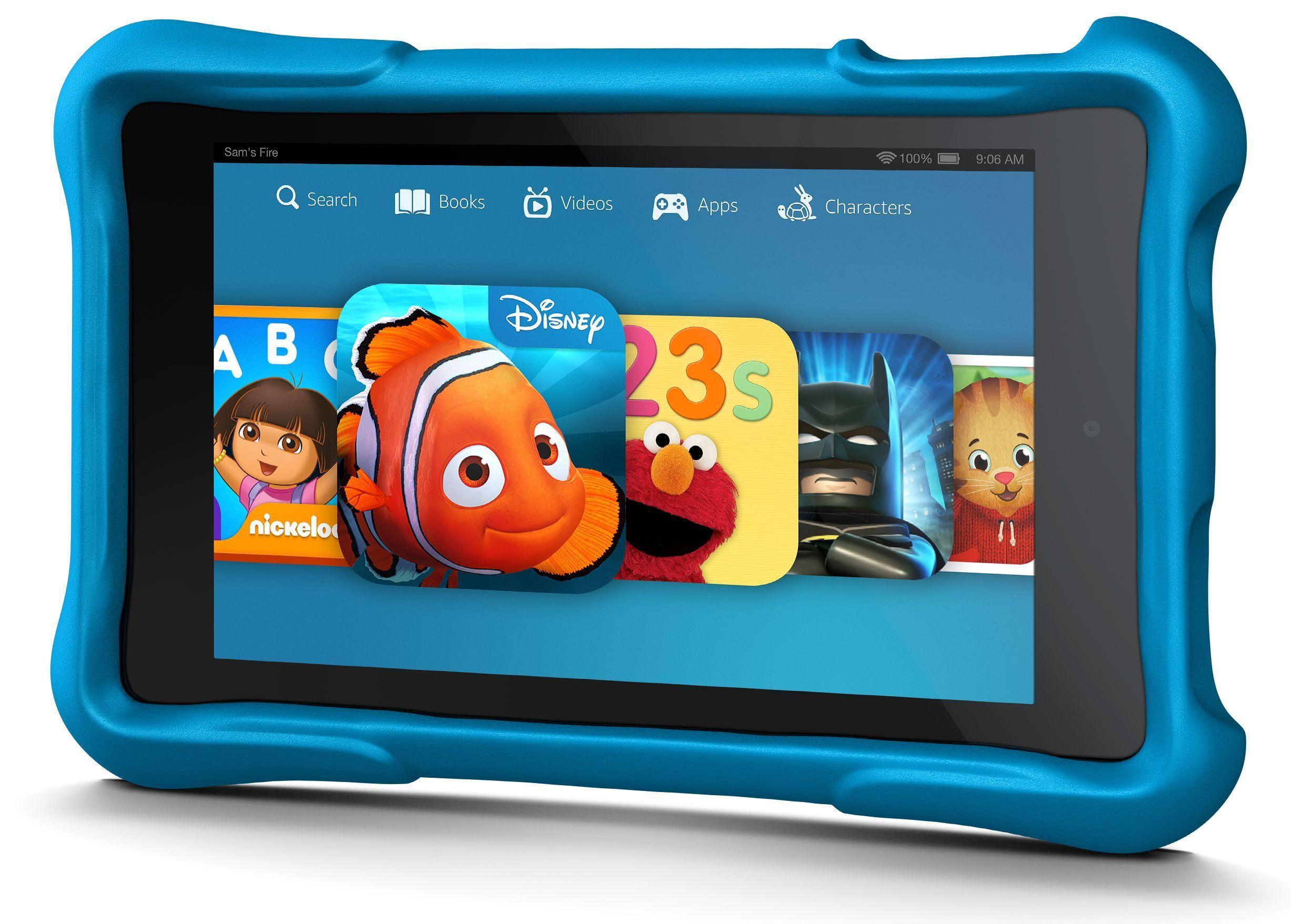 Amazon Fire HD Kids Edition детский планшет