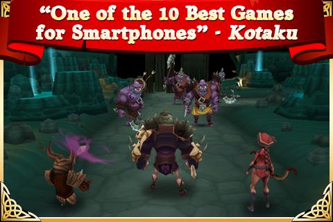"""Игра """"Arcane Legends"""" для планшетов на Android"""