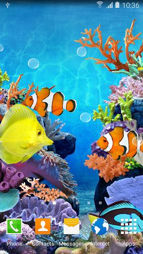 Коралловые Рыбки - Живые Обои скачать на планшет Андроид