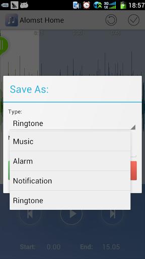 Обрезать песню: Редактор музыки для планшетов на Android