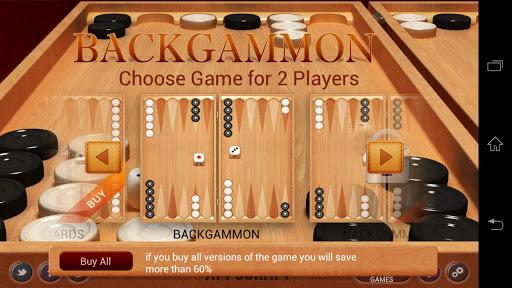 """Игра """"Backgammon"""" на Андроид"""