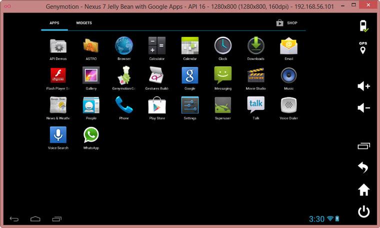 Эмулятор Android-планшета на компьютере Windows и Mac