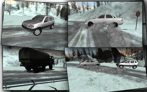 Russia Snow Road Simulator для планшетов на Android
