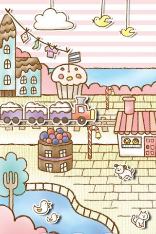 "Живые обои ""Sweets Shop LiveWallpaper"" для планшетов на Android"