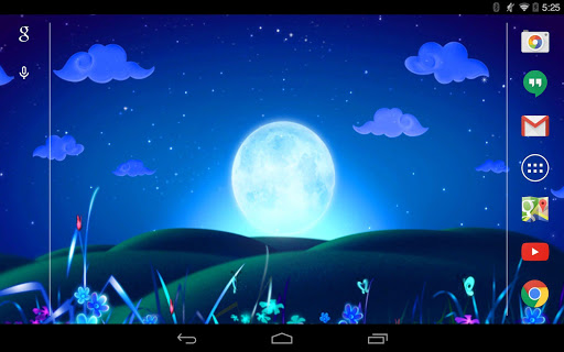 Moonlight Live Wallpaper для планшетов на Android