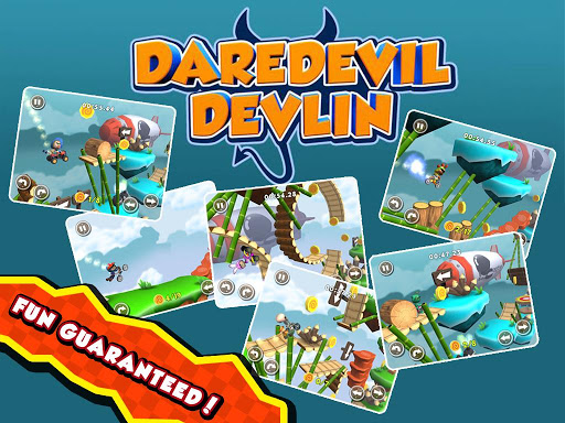Игра Daredevil Devlin для планшетов на Android