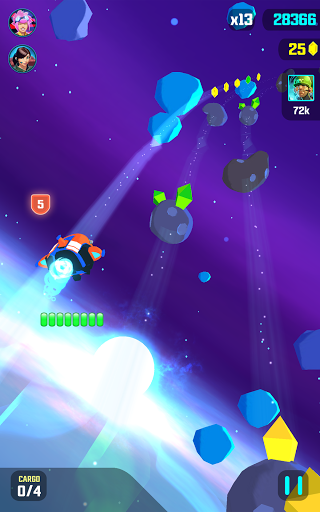 Galaxy Dash: Race to Outer Run для планшетов на Android