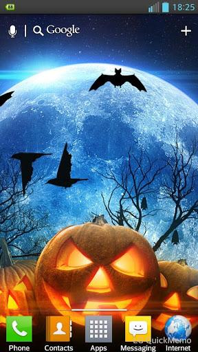 """Живые обои """"Halloween Live Wallpaper"""" для планшетов на Android"""