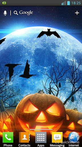 "Живые обои ""Halloween Live Wallpaper"" на Андроид"