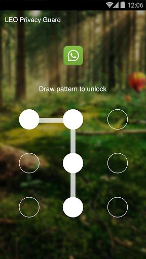 AppLock Theme - Deep Forest скачать на планшет Андроид