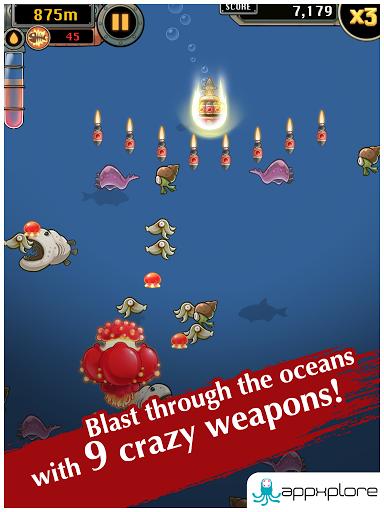 Игра Mobfish Hunter на Андроид