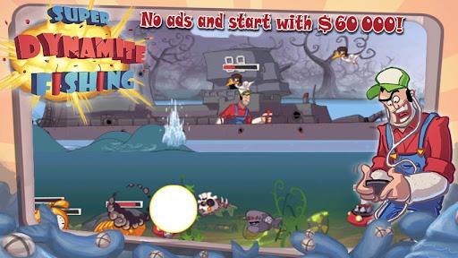 Игра Super Dynamite Fishing для планшетов на Android