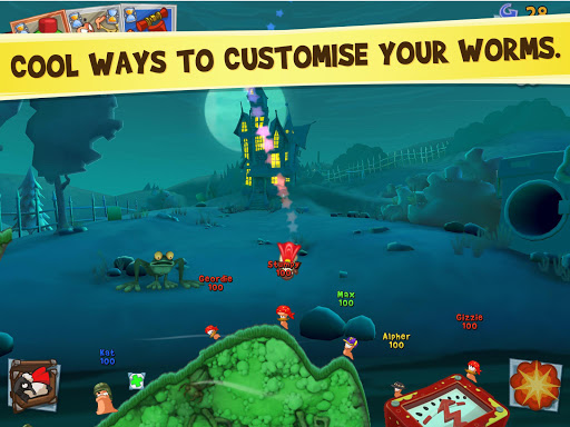 Игра Worms 3 для планшетов на Android