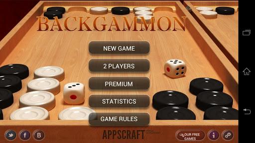 "Игра ""Backgammon"" для планшетов на Android"