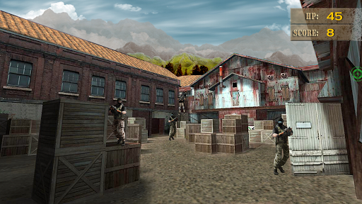Игра Swat Sniper Shooting Game на Андроид
