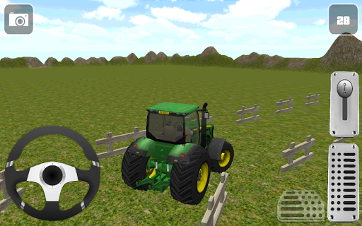 Трактор Парковка 3D