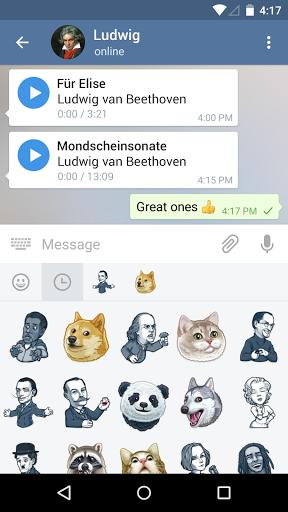 Telegram скачать на планшет Андроид
