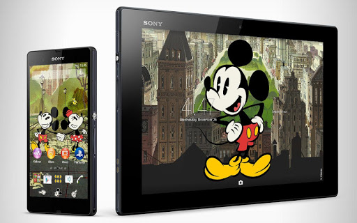 XPERIA™ Mickey New York Theme для планшетов на Android
