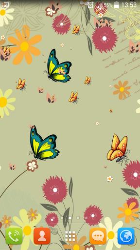 Летние цветы Live Wallpaper скачать на планшет Андроид