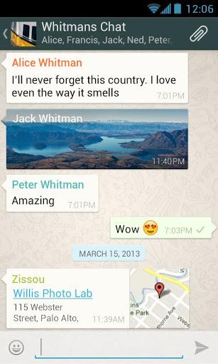 WhatsApp Messenger на Андроид