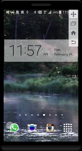 Peaceful River HD LWP скачать на Андроид