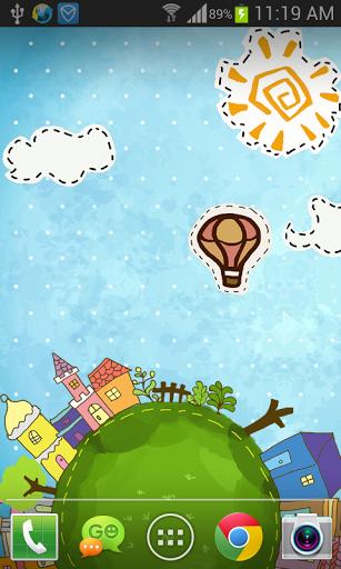 Мультфильм City Live Wallpaper скачать на Андроид