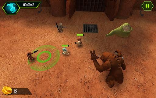 Игра LEGO: STAR WARS (Лего Звездные Войны) для планшетов на Android