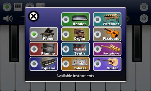 My Piano для планшетов на Android