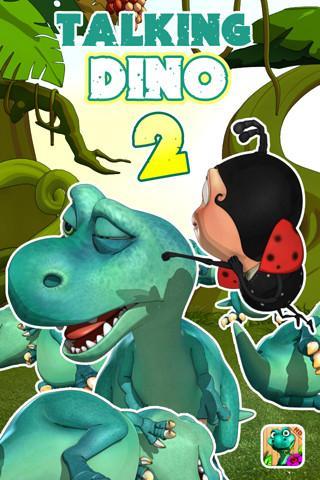 Игра Talking Dinosaur на Андроид