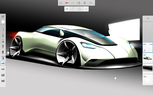 Программа для рисования SketchBook для планшетов на Android