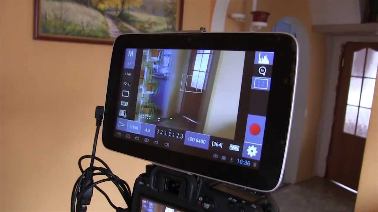 Как включить камеру на планшете?