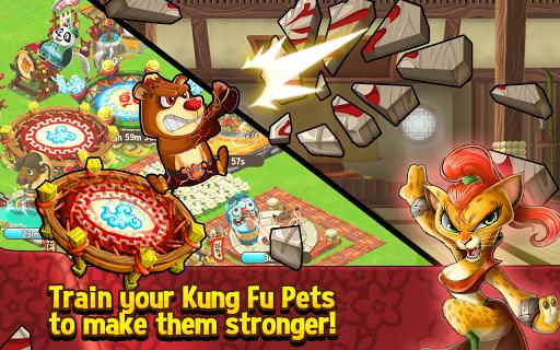 Kung Fu Pets для планшетов на Android