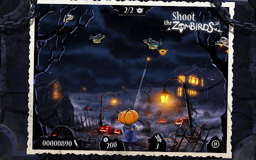 Игра Shoot The Zombirds для планшетов на Android