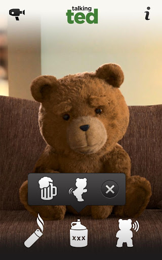 Игра Talking Ted Uncensored для планшетов на Android