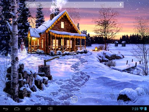 Зимний праздник для планшетов на Android