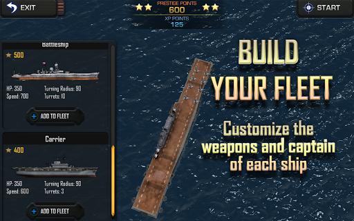 Игра Battle Fleet 2 для планшетов на Android