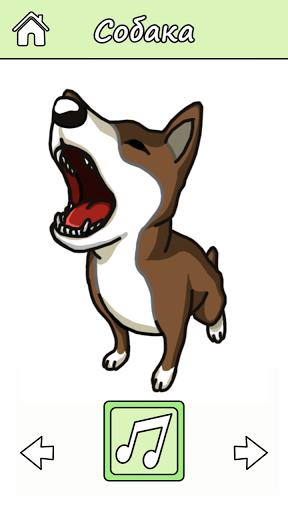 Звуки животных: игра для детей скачать на Андроид
