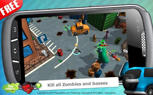 Игра Hot Zomb: Зомби Выживание на Андроид