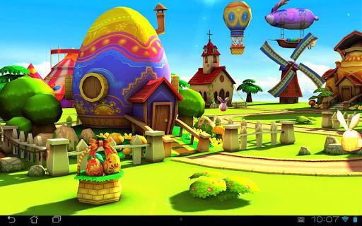 Easter 3D Live Wallpaper на Андроид