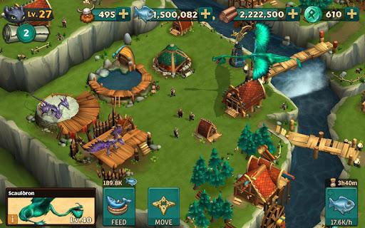 Игра Dragons: Rise of Berk для планшетов на Android