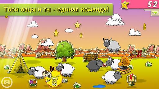 """Игра """"Clouds & Sheep"""" для планшетов на Android"""