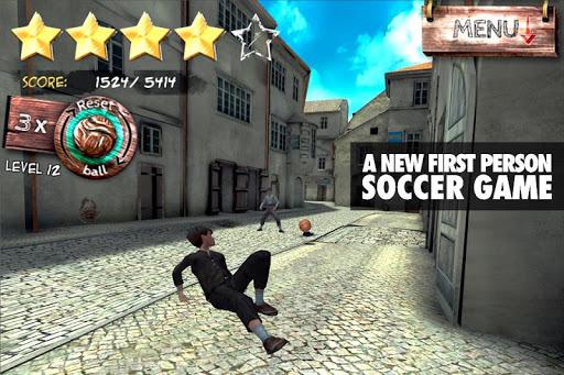 Игра SOCCERiNHO для планшетов на Android
