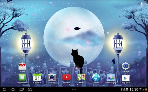 Мистическая Ночь - Живые Обои скачать на планшет Андроид