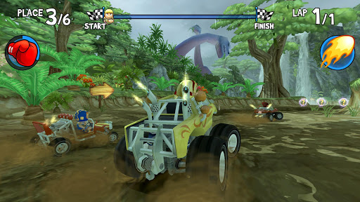 Beach Buggy Racing на Андроид