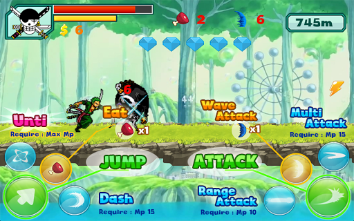 Zoro Pirate Shooting Free для планшетов на Android