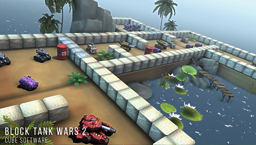 Block Tank Wars 2 скачать на планшет Андроид
