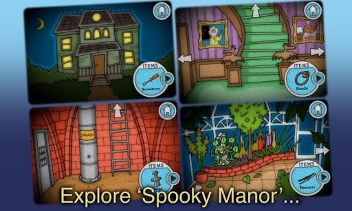"""Игра """"Spooky Manor"""" на Андроид"""